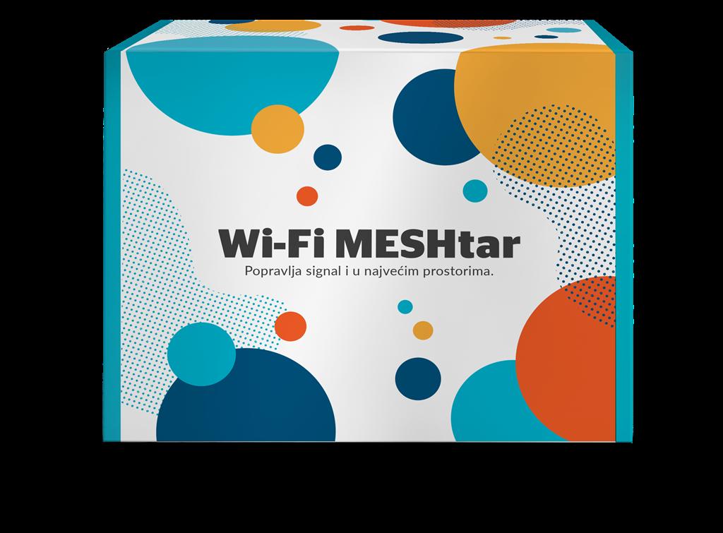 Bestselleri wi-fi MESHtar kutija