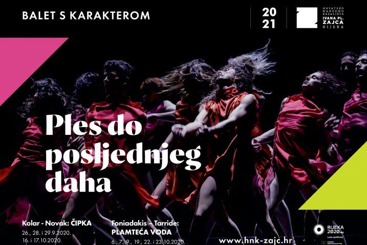 Baleti Čipka i Plamteća voda / Foto HNK Ivana pl. Zajca