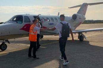 Čolak privatnim avionom odlazi prema Grčkoj/Foto Instagram