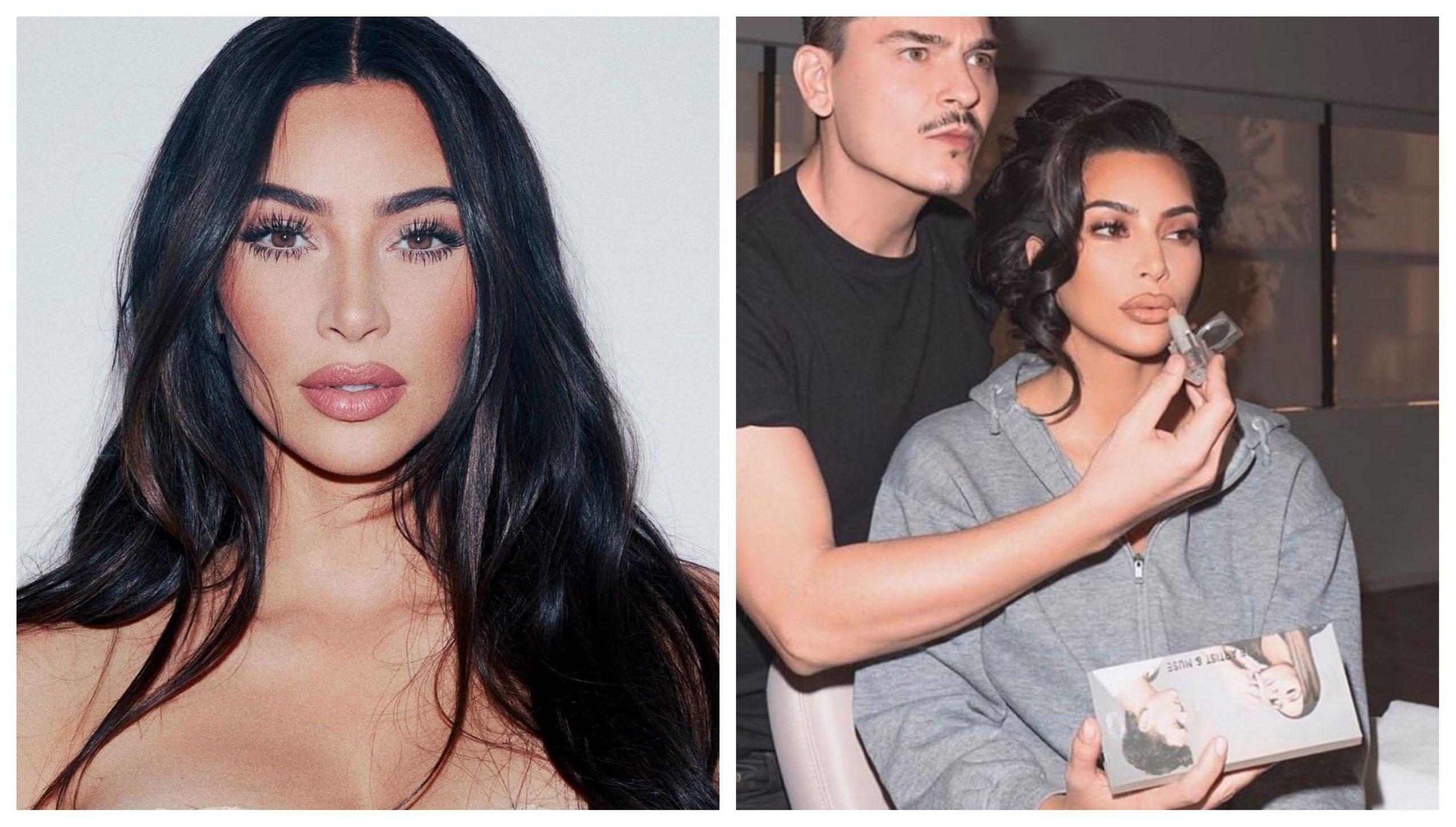 FOTO: IG@Kim Kardashian&Makeup by Mario