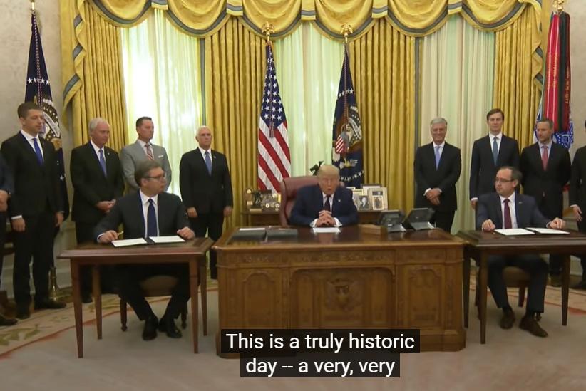 Screenshoot YouTube / Foto White House