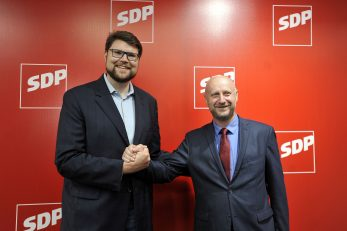 Peđa Grbin i Željko Kolar / Foto: D. KOVAČEVIĆ