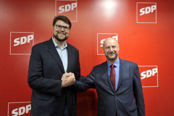 Peđa Grbin i Željko Kolar / Snimio Davor KOVAČEVIĆ