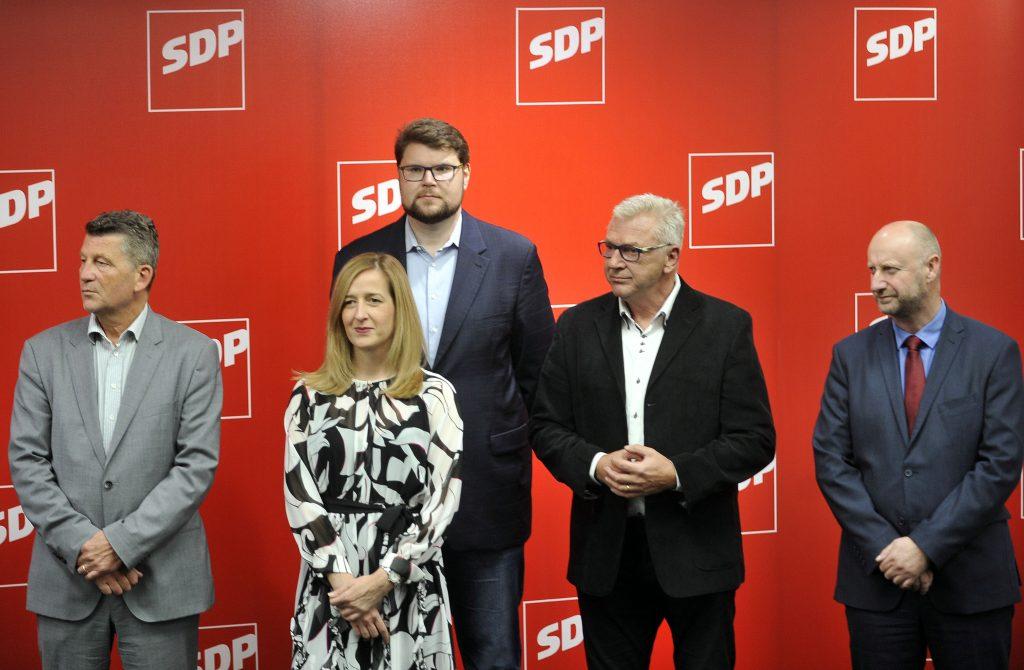 Kandidati za predsjednika SDP-a / Snimio Davor KOVAČEVIĆ