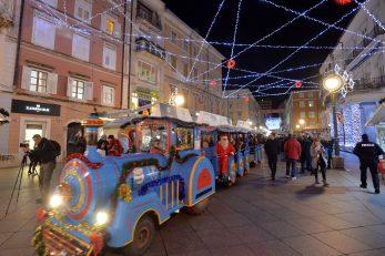 Korona je ove godine zaustavila vlakić Djeda Mraza / Foto Arhiva NL