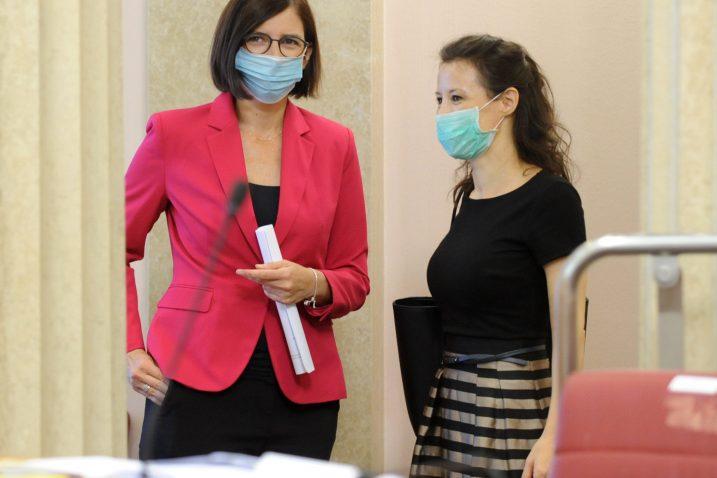 Marijana Puljak i Darija Orešković / Foto: D. JELINEK