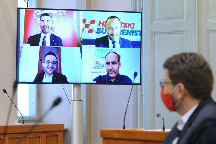 Zastupnici u samoizolaciji bi uskoro mogli osim glasovanja i raspravljati o točkama dnevnog reda / Foto D. JELINEK