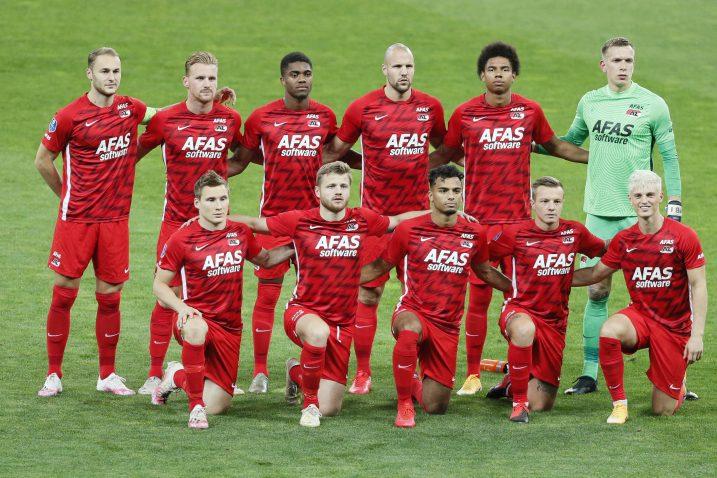 Nogometaši AZ Alkmaara/Foto REUTERS