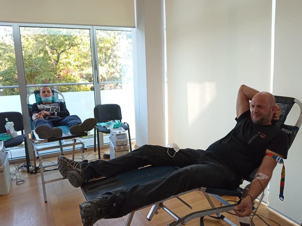 Crikvenički darivatelji uvijek se rado odazivaju - detalj s rujanske akcije darivanja krvi