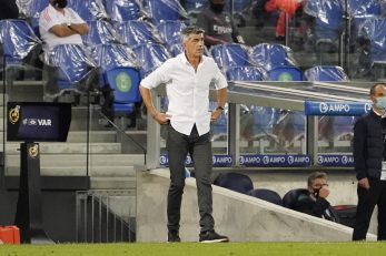 Imanol Alguacil, trener Real Sociedada/Foto REUTERS