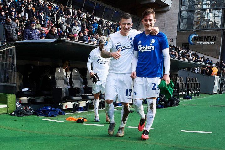RAZGLEDNICA S PARKENA - Karlo Bartolec i Robert Mudražija/Foto FC Kopenhagen