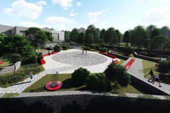 Kuća Halubajskega zvončara bit će izgrađena u sklopu Sportsko-rekreacijske zone Halubjan