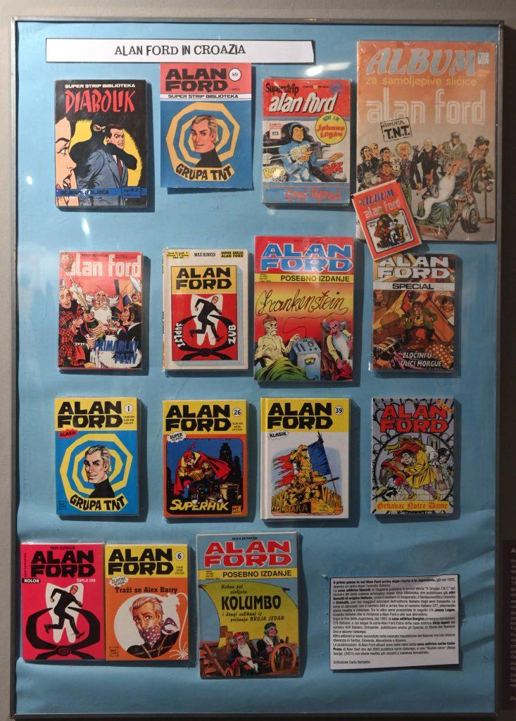 Izložba o stripu Alan Ford / Snimio Vedran KARUZA