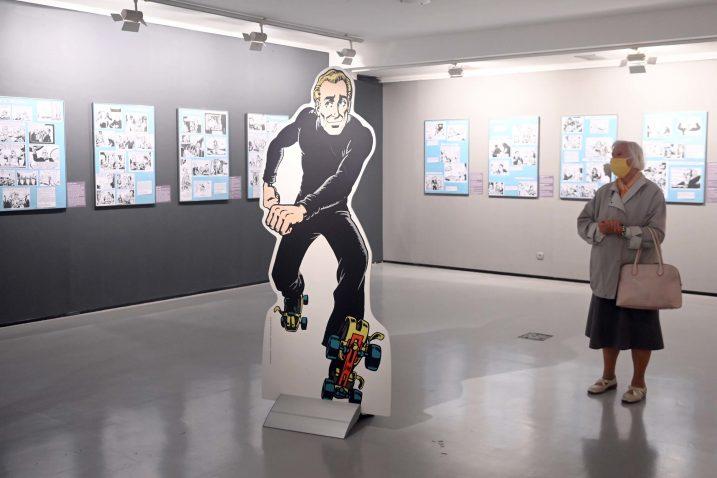 Izložba 'Pola stoljeća s Alanom Fordom' / Snimio Vedran KARUZA