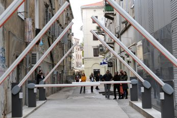 Instalacija Giovannija Morbina / Snimio Marko GRACIN