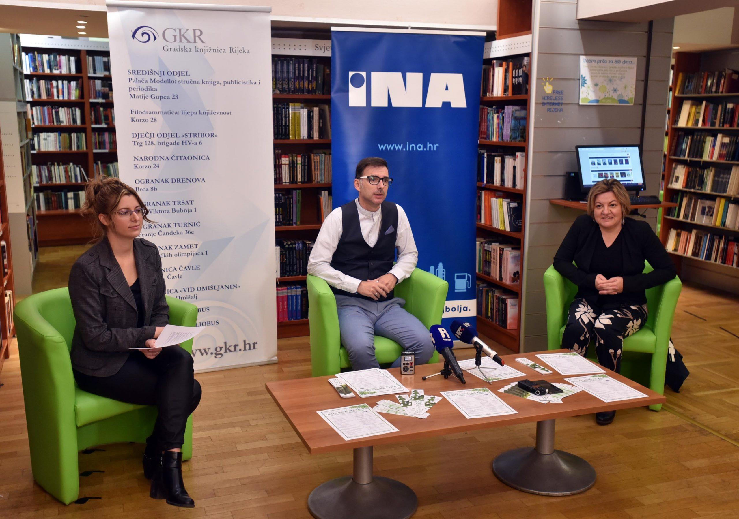 Anja Babić, Niko Cvjetković i Sanja Jakovac Šepić / Snimio Damir Škomrlj