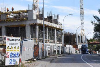 Prva i druga etaža zgrada već je gotova / Foto S. DRECHSLER