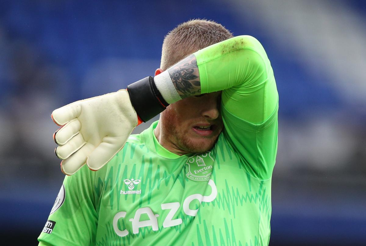 Jordan Pickford/Foto REUTERS
