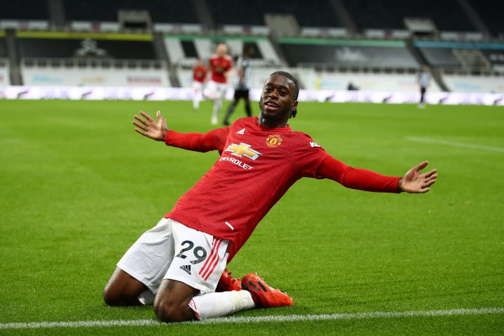 Aaron Wan-Bissaka (Manchester United)/Foto REUTERS