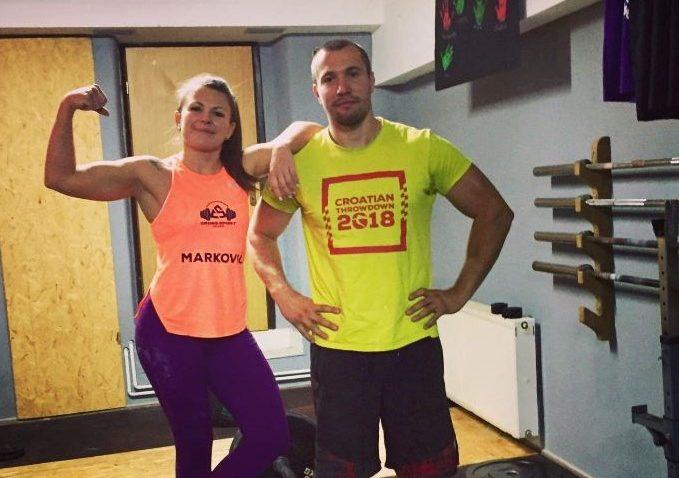 Odmjerili snagu s natjecateljima s Balkana – Marina Marković i Darko Pirc / Snimila Danijela PLEŠE