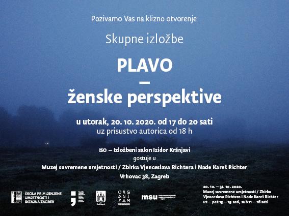Izložba 'Plavo-ženske perspektive'