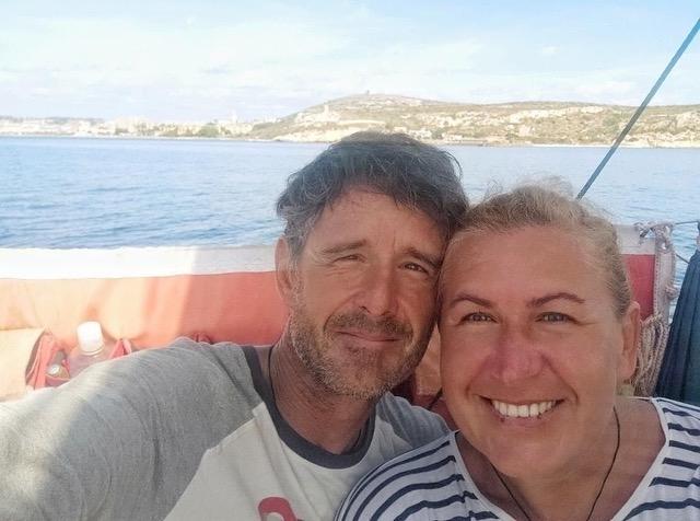Par koji je prevalio 21.000 milju na desetometarskoj jedrilici i još je zajedno - saša Fegić i Marina Đukanović