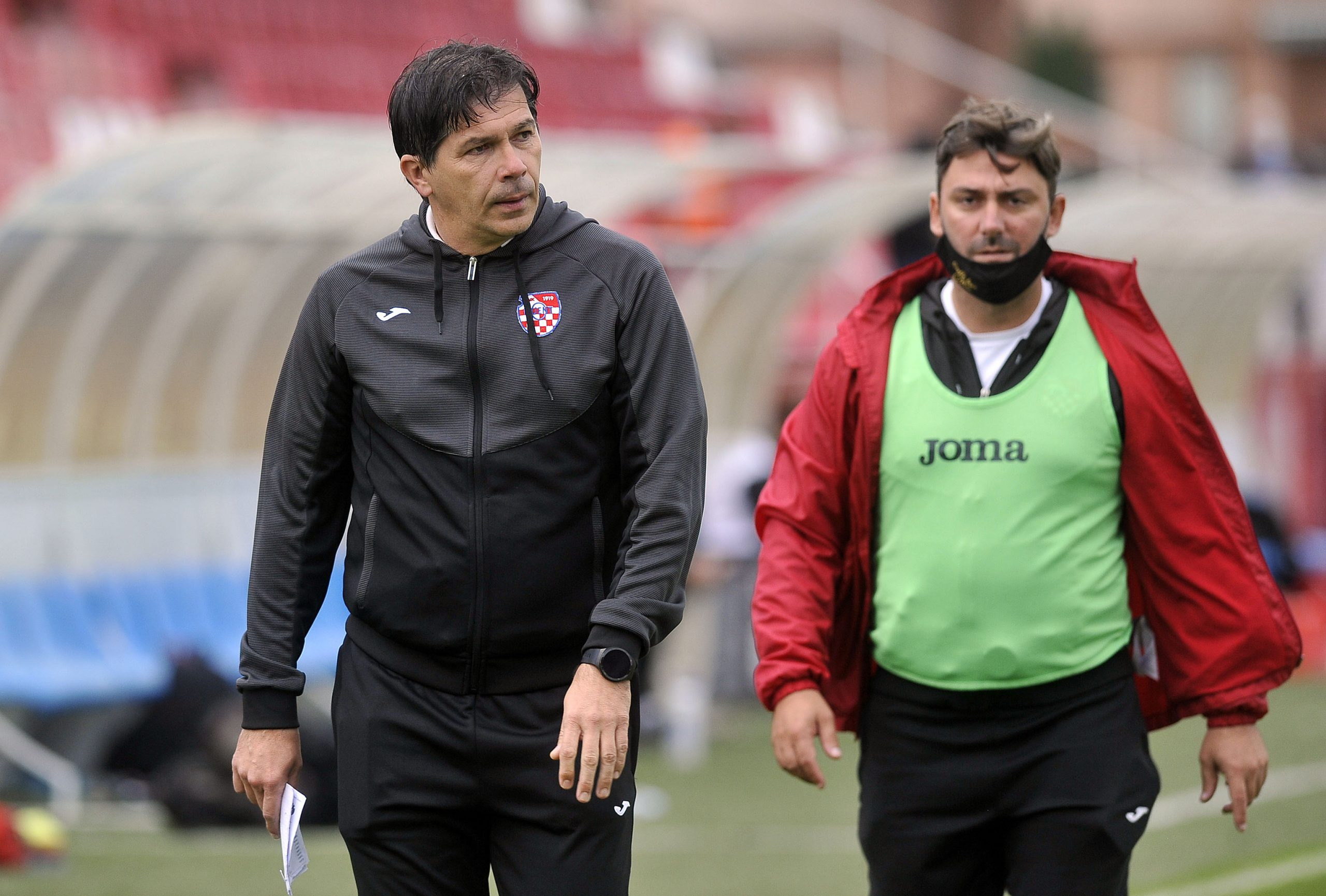 Damir Milinović i pomoćni Siniša Linić/Foto D. KOVAČEVIĆ