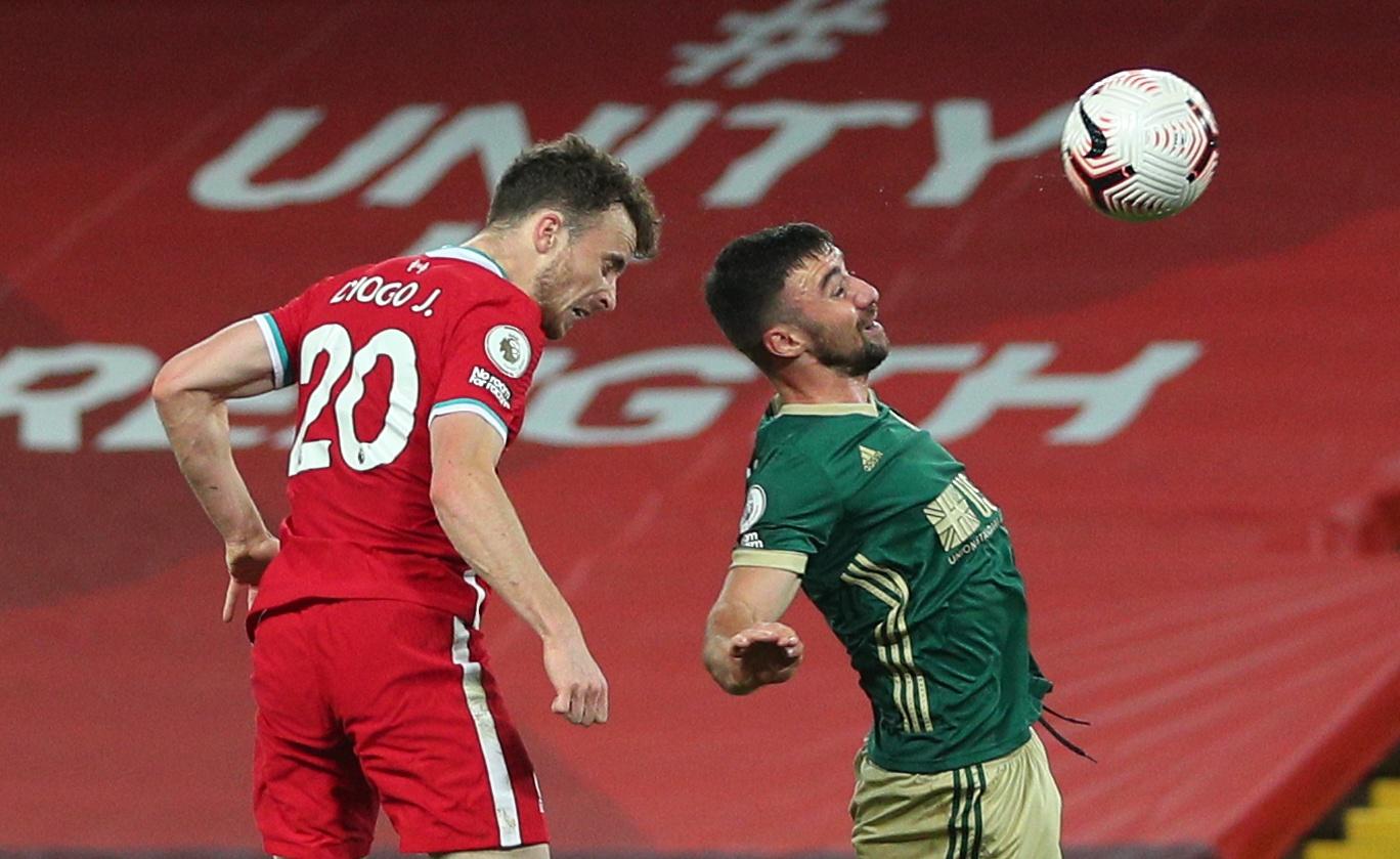 Diogo Jota zabija pobjednički pogodak za Liverpool/Foto REUTERS