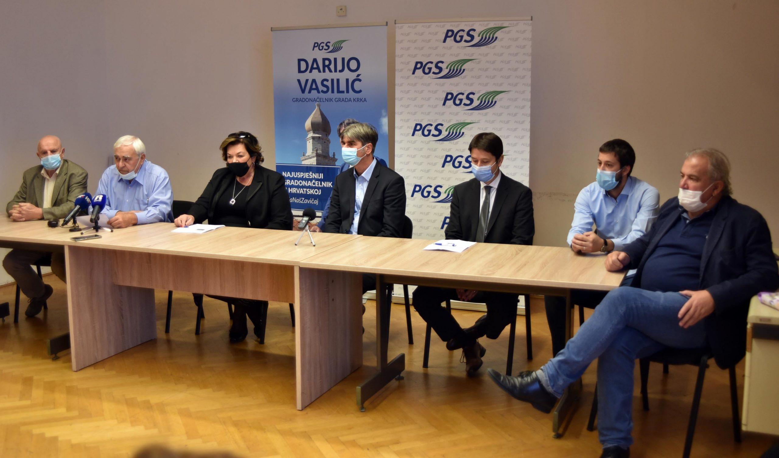 Predstavnici Krka, Klane, Viškova i Jelenja svojim primjerima pokazali napretke u svojim sredinama / Foto D. ŠKOMRLJ
