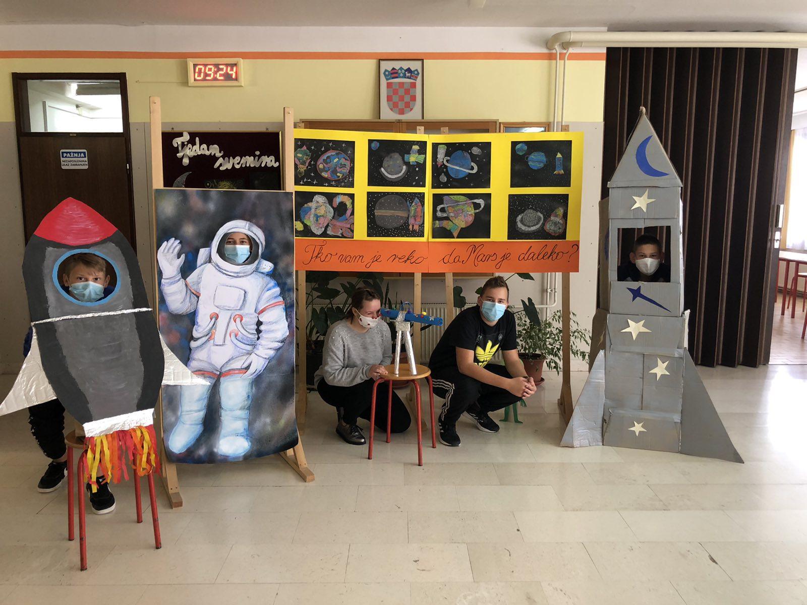 Tjedan svemira u bribirskoj školi