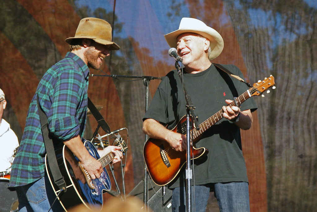 Foto; Flickr, Jerry Jeff Walker i Todd Snider