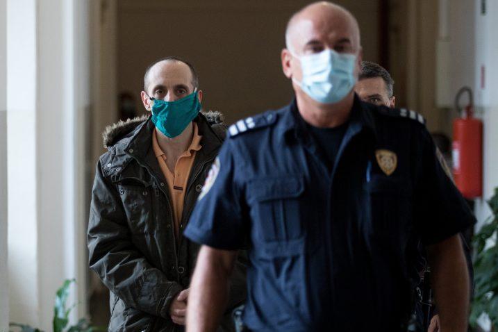 Optuženi Branko Rafajac / Foto Nel Pavletic/PIXSELL