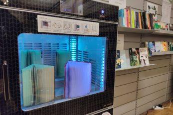 Novi uređaj za sterilizaciju knjiga u GKR-u