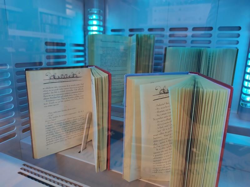 Sterilizator u riječkoj knjižnici