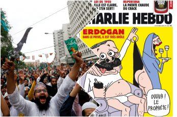 Foto Reuters, Screenshot Facebook Charlie Hebdo
