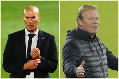 Zinedine Zidane i Ronald Koemann