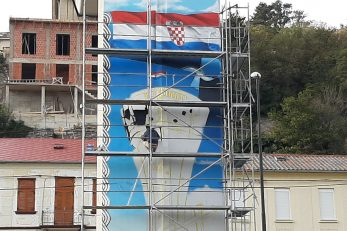 Mural Ne zaboravimo Vukovar