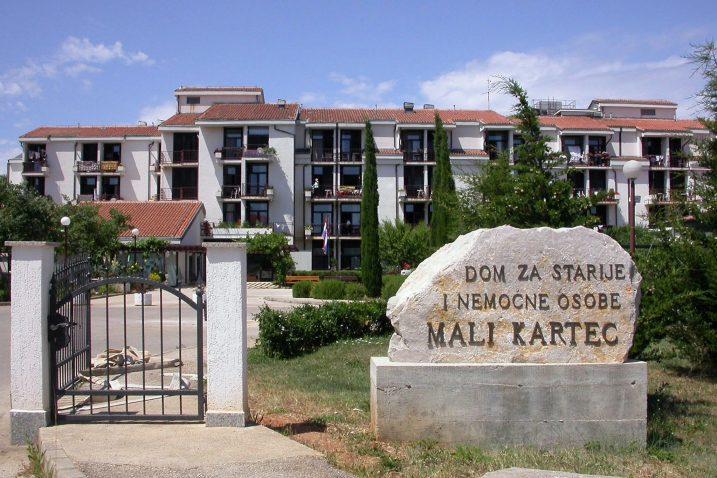 U Domu Mali Kartec na Krku u tijeku su radovi uređenja ukupne vrijednosti 235.000 kuna / Foto: M. TRINAJSTIĆ