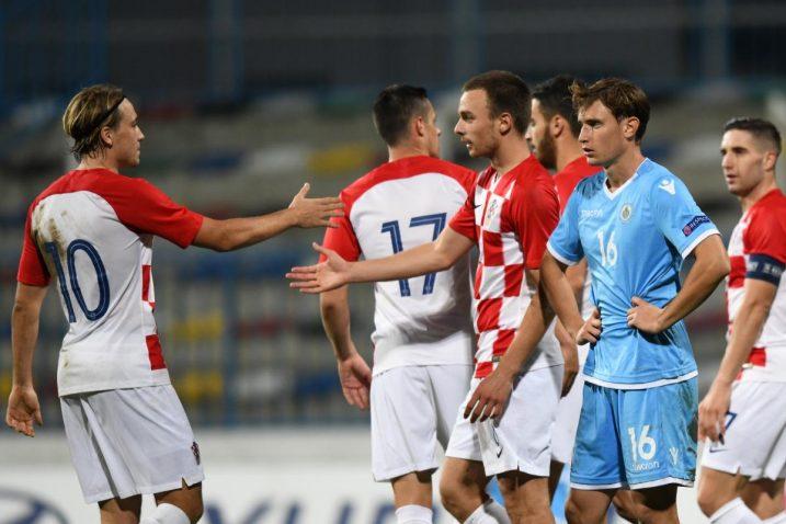Hrvatska U-21 reprezentacija/Foto PIXSELL