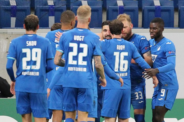Igrači Hoffenheima/Foto REUTERS