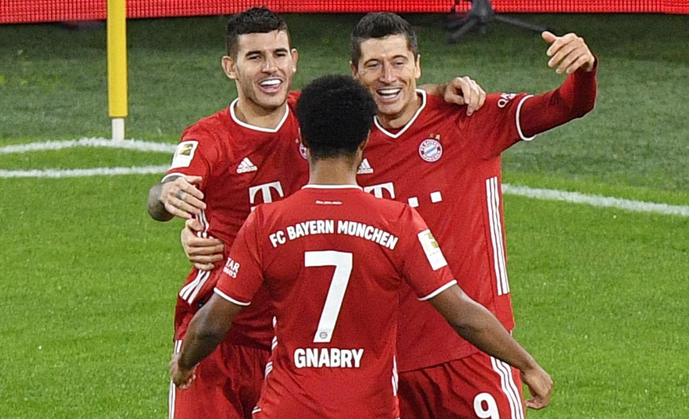 Nogometaši Bayerna/Foto REUTERS