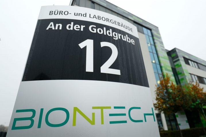 BioNTech / Reuters