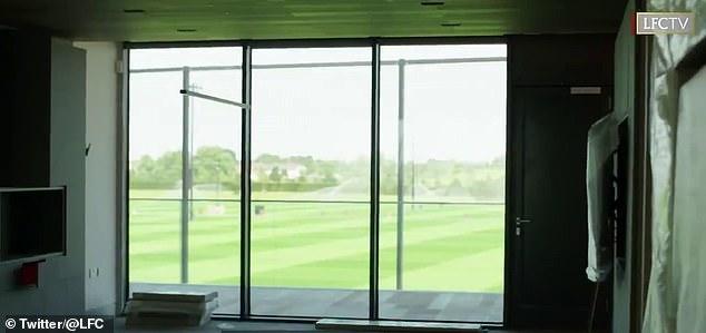 Pogled iz Kloppova ureda