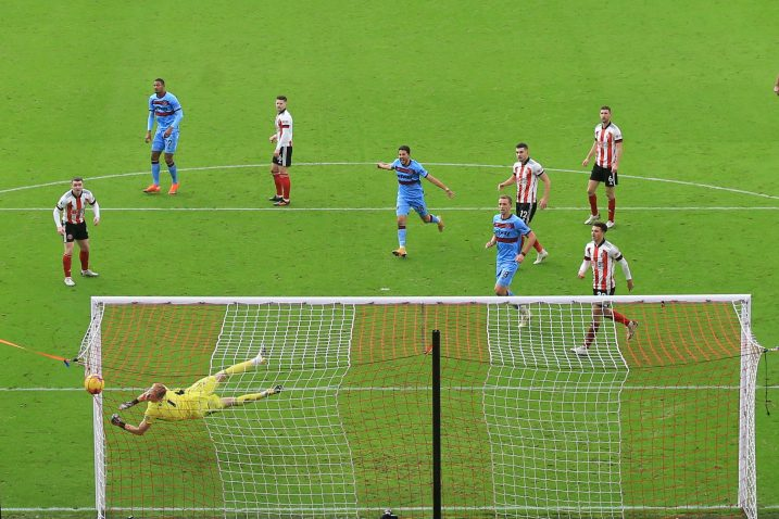 Pogodak Sebastien Hallera za West Ham/Foto REUTERS