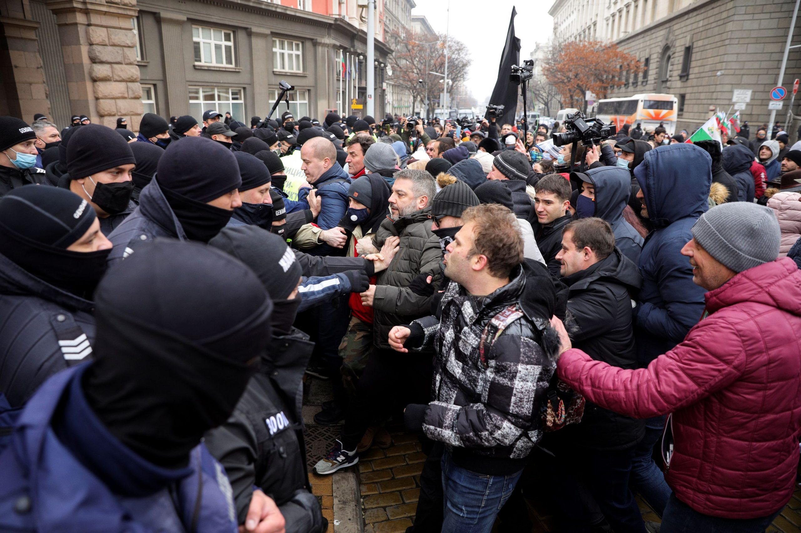 Prosvjedi u Bugarskoj zbog uvođenja strogih mjera / Foto: REUTERS