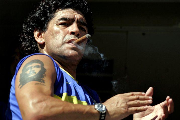Diego Armando Maradona/Foto REUTERS