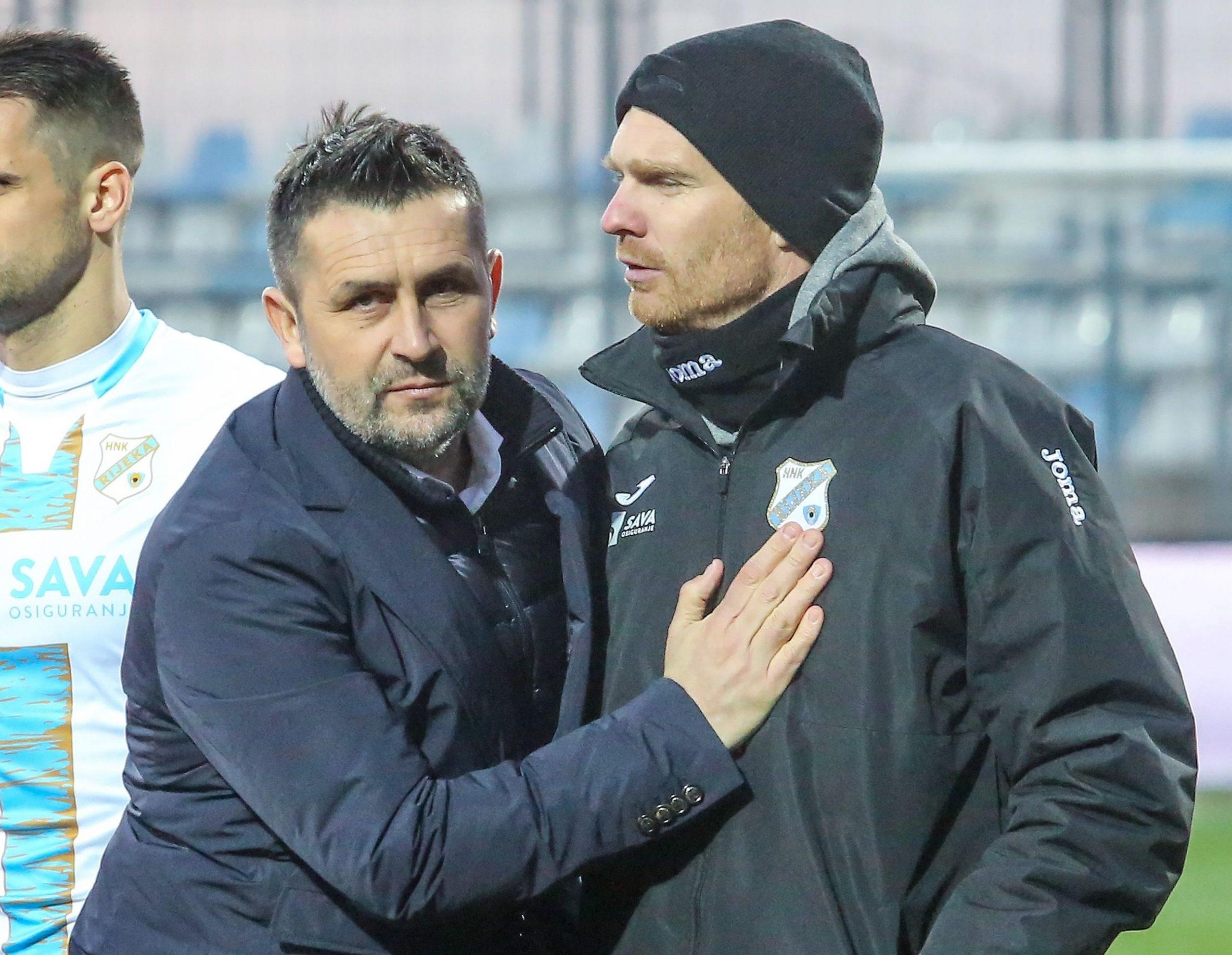 Nenad Bjelica i Simon Rožman/Foto PIXSELL