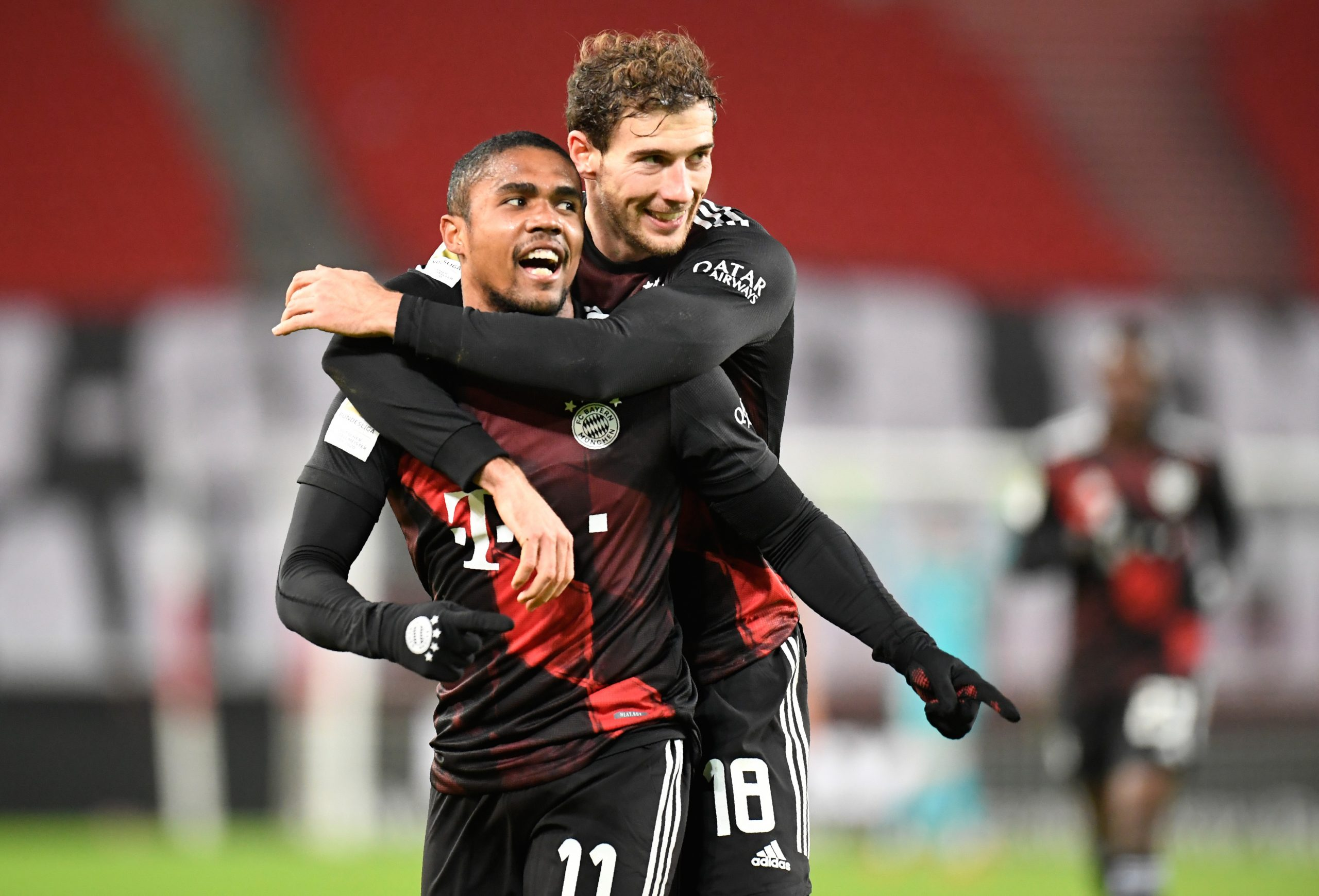 Douglas Costa i Leon Goretzka (Bayern)/Foto REUTERS