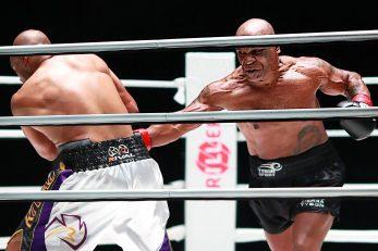 Roy Jones Jr i Mike Tyson/Foto REUTERS