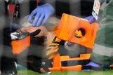 Raul Jimenez stradao je u sudaru s braničem Arsenala/Foto REUTERS